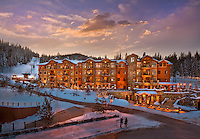 Hyatt Northstar Lodge  Northstar-at-Tahoe.Tahoe Mountain Resorts.OZ Architects