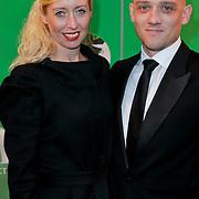 NLD/Scheveningen/20111106 - Premiere musical Wicked, Plien van Bennekom en partner Jeroen Wassmer