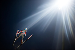 06.01.2015, Paul Ausserleitner Schanze, Bischofshofen, AUT, FIS Ski Sprung Weltcup, 63. Vierschanzentournee, Finale, im Bild Daniel Wenig (GER) // Daniel Wenig of Germany during Final Jump of 63rd Four Hills <br /> Tournament of FIS Ski Jumping World Cup at the Paul Ausserleitner Schanze, Bischofshofen, Austria on 2015/01/06. EXPA Pictures © 2015, PhotoCredit: EXPA/ JFK