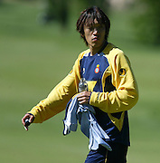 July 18th. 2009. Shunsuke Nakamura, new player of the R.C.D. Espanyol of Barcelona, training in the preseason of his team in Peralada.