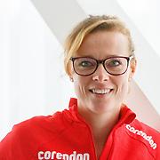 NLD/Amsterdam/20151021 - Ploegpresentatie Corendon schaatsploeg, Marije Joling