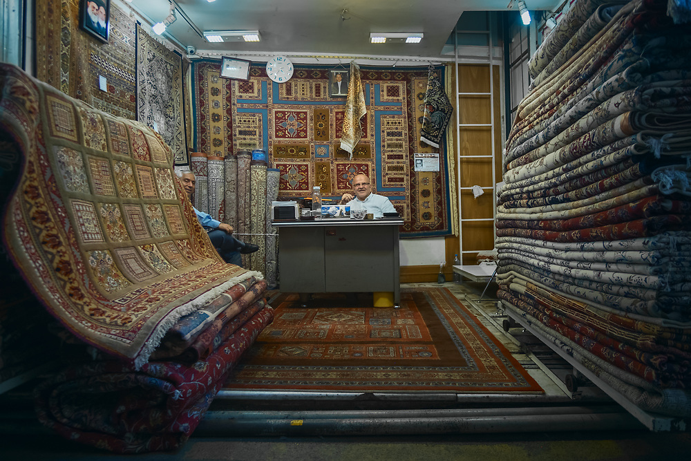 "Persian carpets were traditionally woven by nomadic tribes, they reflect the history of Iran and its various peoples. In 2010, the ""traditional skills of carpet weaving"" in Fārs and Kashan were inscribed to the UNESCO Intangible Cultural Heritage Lists."