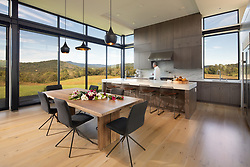 98 Lyle Modern Home kitchen dining room