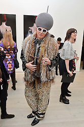 BERNHARD HOFSTETTER at the launch of a new exhibition 'Le Tarbouche' by French-Lebanese artist Mouna Rebeiz held at The Saatchi Gallery, Duke of York's HQ, King's Road, London on 26th February 2015.
