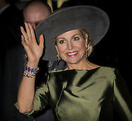 Queen Maxima opens Aert Schouman exhibition, Dordrecht 20-02-2017