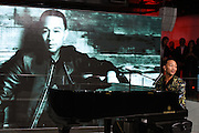 Photo of John Legend performing live at an iHeartMedia AdWeek event at the iHeartMedia offices, NYC on September 28, 2016. © Matthew Eisman/ iHeartMedia. All Rights Reserved
