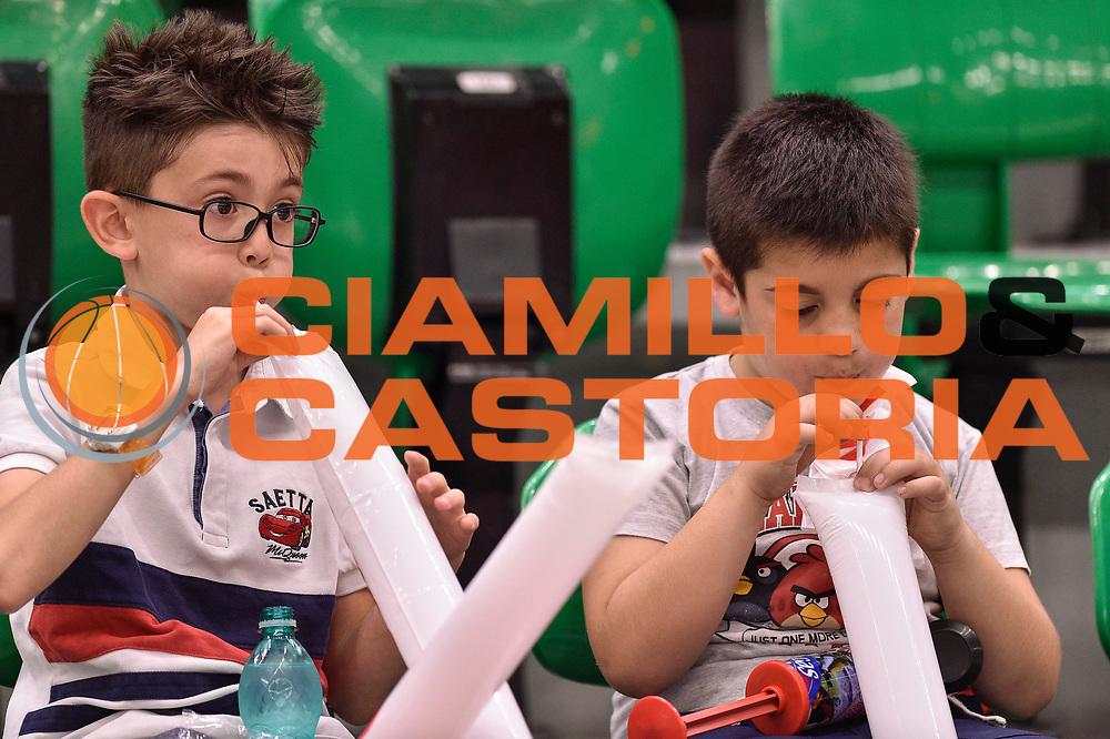 DESCRIZIONE : Campionato 2014/15 Serie A Beko Dinamo Banco di Sardegna Sassari - Grissin Bon Reggio Emilia Finale Playoff Gara4<br /> GIOCATORE : Tifosi Pubblico Spettatori Bambini<br /> CATEGORIA : Tifosi Pubblico Spettatori<br /> SQUADRA : Dinamo Banco di Sardegna Sassari<br /> EVENTO : LegaBasket Serie A Beko 2014/2015<br /> GARA : Dinamo Banco di Sardegna Sassari - Grissin Bon Reggio Emilia Finale Playoff Gara4<br /> DATA : 20/06/2015<br /> SPORT : Pallacanestro <br /> AUTORE : Agenzia Ciamillo-Castoria/GiulioCiamillo