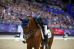 Witte-Vrees Madeleine, NED, Cennin<br /> Grand Prix Freestyle<br /> FEI World Cup Dressage Final, Omaha 2017 <br /> © Hippo Foto - Dirk Caremans<br /> 01/04/2017