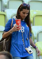 """Cristaina DE PIN (Italia)<br /> Danzica 10/06/2012  """"GDANSK ARENA""""<br /> Football calcio Europeo 2012  Spagna Vs Italia <br /> Football Calcio Euro 2012<br /> Foto Insidefoto Alessandro Sabattini"""