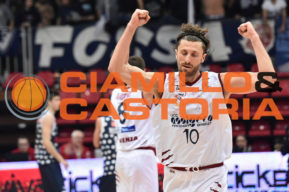Luca Infante<br /> UCC Assigeco Piacenza - Fortitudo Kontatto Bologna<br /> Campionato Basket A2 LNP 2016/2017<br /> Piacenza, 11/12/2016<br /> Foto Ciamillo-Castoria