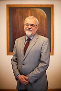 Joel Ruml Synodal Senior of the Evangelical Church of Czech Brethren in his office in Prague.