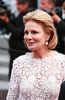 Actress Marthe Keller at the gala screening for the film Sicario at the 68th Cannes Film Festival, Tuesday May 19th 2015, Cannes, France.