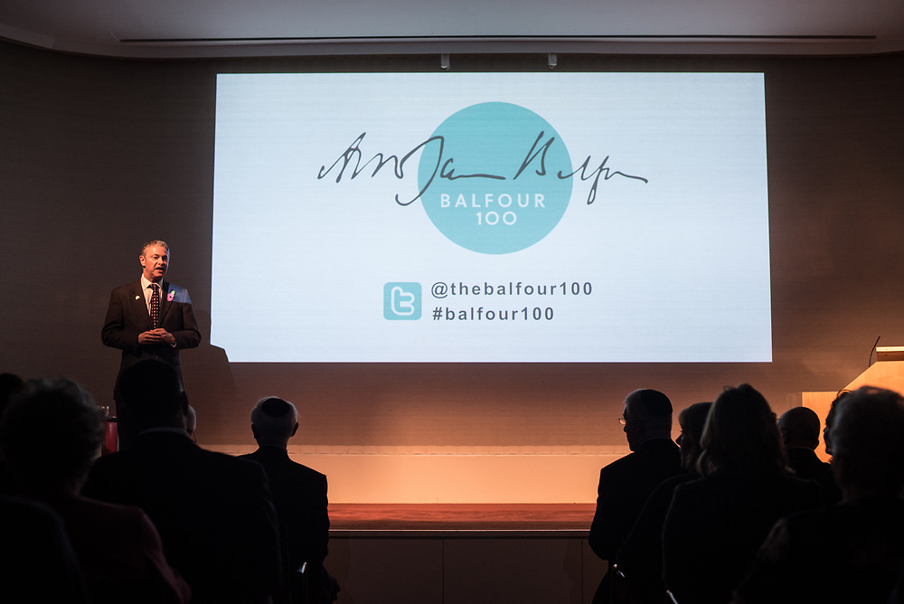 01.11.2017 <br /> Balfour Lecture at The Royal Society. <br /> (C) Blake Ezra Photography Ltd. 2017