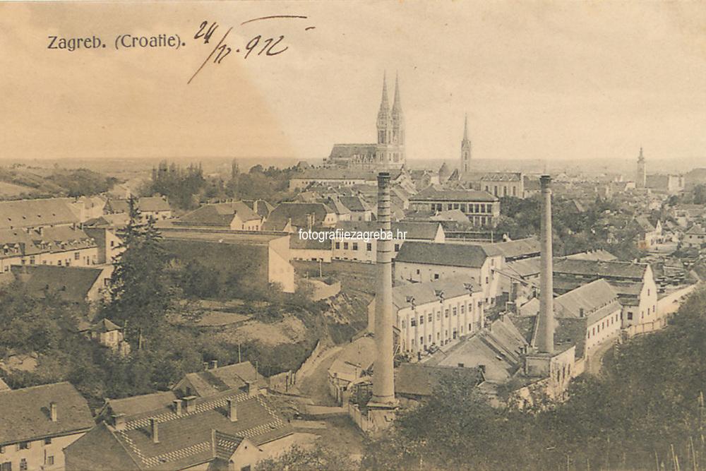 Zagreb : Croatie. <br /> <br /> ImpresumZagreb : Svjetlotiskarski zavod R. Mosinger, [1912].<br /> Materijalni opis1 razglednica : tisak ; 8,7 x 13,6 cm.<br /> NakladnikSvjetlotiskarski zavod R. Mosinger<br /> Mjesto izdavanjaZagreb<br /> Vrstavizualna građa • razglednice<br /> ZbirkaZbirka razglednica • Grafička zbirka NSK<br /> Formatimage/jpeg<br /> SignaturaRZG-PAN-19<br /> Obuhvat(vremenski)20. stoljeće<br /> NapomenaRazglednica je putovala 1912.<br /> PravaJavno dobro<br /> Identifikatori000925457<br /> NBN.HRNBN: urn:nbn:hr:238:627087 <br /> <br /> Izvor: Digitalne zbirke Nacionalne i sveučilišne knjižnice u Zagrebu