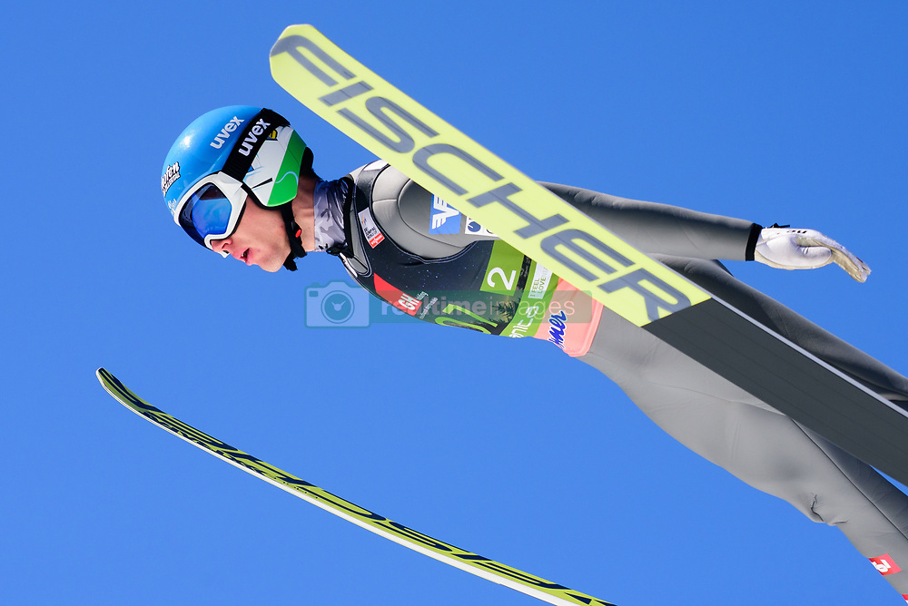 March 23, 2019 - Planica, Slovenia - Philipp Aschenwald of Austria in action during the team competition at Planica FIS Ski Jumping World Cup finals  on March 23, 2019 in Planica, Slovenia. (Credit Image: © Rok Rakun/Pacific Press via ZUMA Wire)