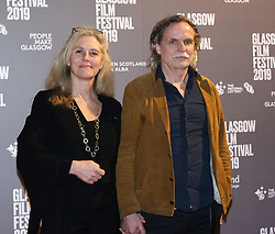 Glasgow Film Festival 2019<br /> <br /> The UK Premiere of The Vanishing<br /> <br /> Pictured: Director Kristoffer Nyholm and Charlotte sieling<br /> <br /> (c) Aimee Todd | Edinburgh Elite media