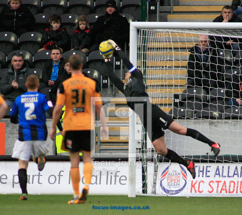 Picture by Richard Gould/Focus Images Ltd +447814 482222.26/01/2013.Luke Steele of Barnsley in action during the The FA Cup match at the KC Stadium, Kingston upon Hull.