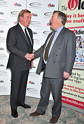 © Licensed to London News Pictures. 07/02/2012.  England. Terry Wogan  and Ken Clarke attends the Oldies of the year Awards at Simpsons hotel in the Strand London Photo credit : ALAN ROXBOROUGH/LNP