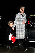 Dec. 2, 2015 - New York City, NY, USA - <br /> <br /> Singer Pink arrives at a downtown hotel with her daughter Willow Sage Hart<br /> ©Exclusivepix Media
