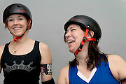 Portraits Kristen/Hela Roller Derby