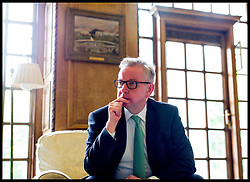 June 30, 2017 - London, London, United Kingdom - Image ©Licensed to i-Images Picture Agency. 30/06/2017. London, United Kingdom. Michael Gove Environment Secretary. Portraits of The Environment Secretary Michael Gove in his office in Westminster, central London. Picture by Andrew Parsons / i-Images (Credit Image: © Andrew Parsons/i-Images via ZUMA Press)