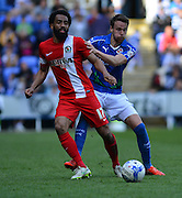 Blackburn Rovers Lee Williamson during the Sky Bet Championship match between Reading and Blackburn Rovers at the Madejski Stadium, Reading, England on 11 April 2015. Photo by Mark Davies.