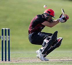 Canterbury's Chad Bowes ducks to avoid an Otago Volts bouncer in the Ford Trophy one-day domestic cricket match at the University of Otago Oval, Dunedin, New Zealand, Saturday, January 27, 2018. Credit:SNPA / Adam Binns ** NO ARCHIVING**