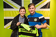 MOM Forest Green Rovers Dayle Grubb(8) during the EFL Sky Bet League 2 match between Forest Green Rovers and Cambridge United at the New Lawn, Forest Green, United Kingdom on 20 January 2018. Photo by Shane Healey.