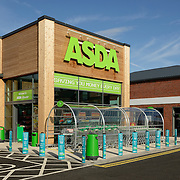 An ASDA supermarket store entrance