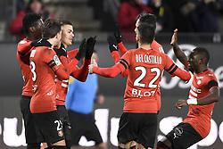 February 10, 2019 - Rennes, France - 18 Hatem BEN ARFA (ren) - JOIE (Credit Image: © Panoramic via ZUMA Press)