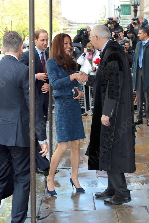 26.APRIL.2012. LONDON<br /> <br /> ROYALS ATTEND RECEPTION AT GOLDSMITH HALL IN SUPPORT OF THE BRITISH LEGION<br /> <br /> BYLINE: EDBIMAGEARCHIVE.COM<br /> <br /> *THIS IMAGE IS STRICTLY FOR UK NEWSPAPERS AND MAGAZINES ONLY*<br /> *FOR WORLD WIDE SALES AND WEB USE PLEASE CONTACT EDBIMAGEARCHIVE - 0208 954 5968*