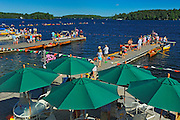 Muskoka Lakes Association Regatta at the Golf club on Lake Rosseau<br /> Port Carling<br /> Ontario<br /> Canada