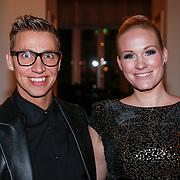NLD/Amsterdam/20121112 - Beau Monde Awards 2012, Wieneke Remmers en Marcel Visscher