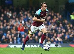 April 8, 2018 - London, England, United Kingdom - West Ham United's Mark Noble.during English Premier League match between Chelsea and West Ham United at Stamford Bridge, London, England on 08 April 2018. (Credit Image: © Kieran Galvin/NurPhoto via ZUMA Press)