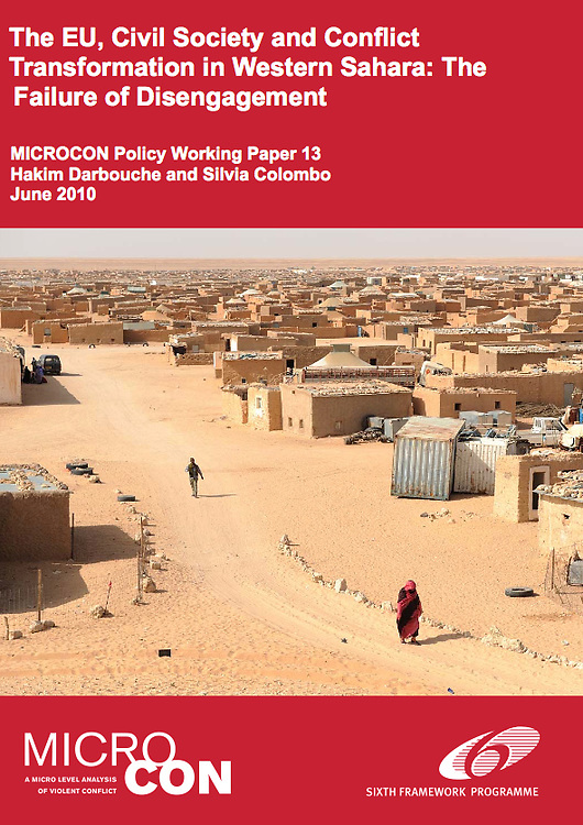 Micro Conflict Policy Working Paper 13 cover photograph