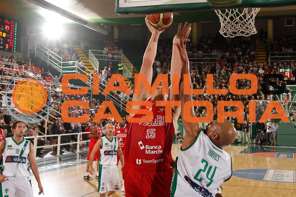 DESCRIZIONE : Avellino Lega A 2013-14 Sidigas Avellino Victoria Libertas Pesaro<br /> GIOCATORE : Marc Trasolini<br /> CATEGORIA : tiro <br /> SQUADRA : Victoria Libertas Pesaro<br /> EVENTO : Campionato Lega A 2013-2014<br /> GARA : Sidigas Avellino Victoria Libertas Pesaro<br /> DATA : 13/10/2013<br /> SPORT : Pallacanestro <br /> AUTORE : Agenzia Ciamillo-Castoria/A. De Lise<br /> Galleria : Lega Basket A 2013-2014  <br /> Fotonotizia : Avellino Lega A 2013-14 Sidigas Avellino Victoria Libertas Pesaro