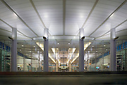 Ted Stevens International Airport, interior views of the terminal  in Anchorage Alaska
