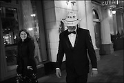 BETHANY BRADSHAW; STEPHEN BRADSHAW ON WAY TO LIBERTY BALL,  Inauguration of Donald Trump and demonstrators and various entrances,  Washington DC. 20  January 2017