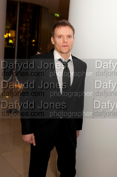 MARC WARREN, English National Ballet's party before performance of the ' The Nutcracker. St. Martin's Lane Hotel. London 14 December 2011.