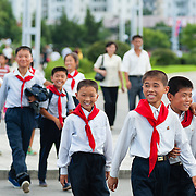 Child members of the Party, Pyongyang, DPRK (North Korea)