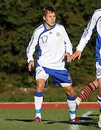 02.10.2010, Eerikkil?n Urheiluopisto, Tammela..U-19 (1992 syntyneet) maaottelu Suomi - Ven?j?..Antto Hilska - Suomi.©Juha Tamminen.