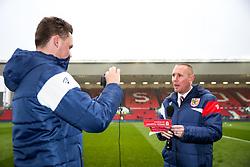 Bean-Ed TV - Rogan/JMP - 27/01/2018 - Ashton Gate Stadium - Bristol, England - Bristol City v Queens Park Rangers - Sky Bet Championship.