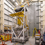 STO (Stratospheric Terahertz Observatory) Telescope, a balloon-borne 80 cm telescope exploring the Milky Way in the far-infrared [CII] and [NII] lines. STO had a successful 14-day Antarctic flight in January 2012 and was preparing for a 2015/2016 flight during my visit.