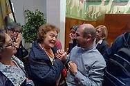 ROME, ITALY - OCTOBER 20: La  Caritas diocesana di Roma presenta il programma pastorale per gli animatori della carità con don Benoni Ambarus nuovo direttore della Caritas di Roma, presso l'Aula Magna della Pontificia Università Lateranense on October 20, 2018 in Rome, Italy.
