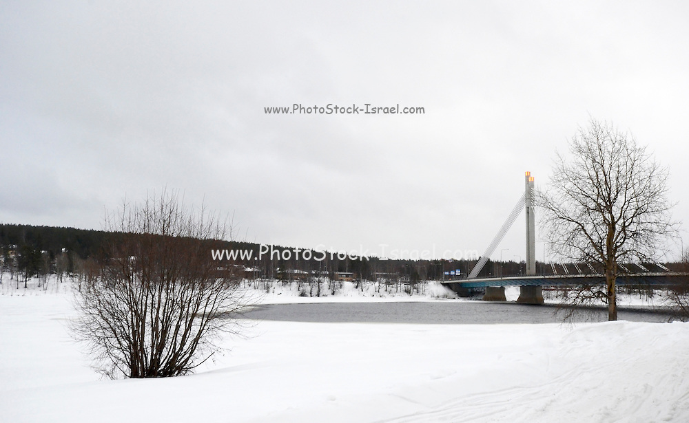 Rovaniemi the Lumberjack's Candle Bridge, Lapland, Finland