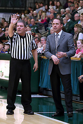 07 January 2017:  Tom Flynn and Mike Schauer during an NCAA men's division 3 CCIW basketball game between the Wheaton Thunder and the Illinois Wesleyan Titans in Shirk Center, Bloomington IL