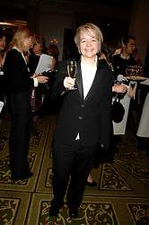 Writer SARAH WATERS at the Galaxy British Book Awards 2007 - The Nibbies held at the Grosvenor house Hotel, Park Lane, London on 28th March 2007.<br /><br />NON EXCLUSIVE - WORLD RIGHTS