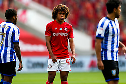 Han-Noah Massengo of Bristol City looks on - Rogan/JMP - 28/08/2020 - Ashton Gate Stadium - Bristol, England - Bristol City v Sheffield Wednesday - Sky Bet Championship.