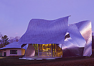 Fisher Center For the Performing Arts , Bard College, Annandale, New York, designed by Frank Gehry, Hudson River Valley