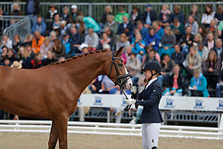 Andersson, Jessica Lynn (SWE) Bella Diva<br /> Warendorf - Bundeschampionate 2016<br /> © www.sportfotos-lafrentz.de/Stefan Lafrentz